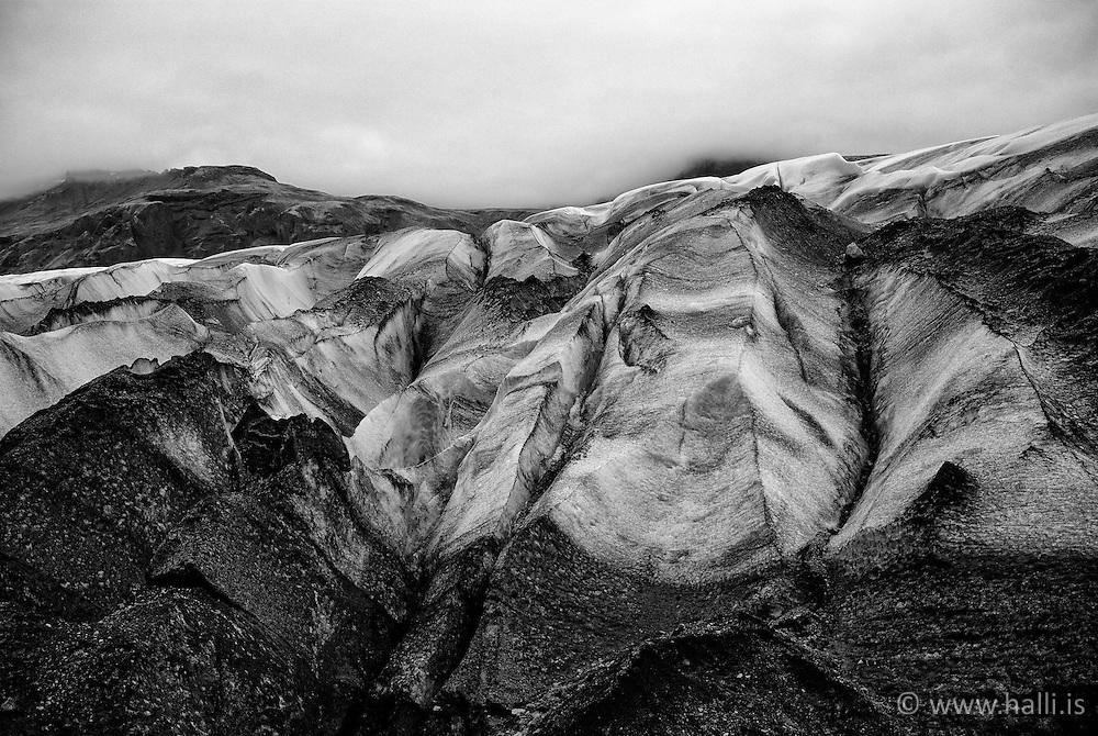 The glacier Snifafellsjokull, south east Iceland - Svínafellsjökull