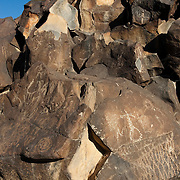 Large sections of rock containing Native American symbols have been removed from areas of Joshua Tree National Park. There is a black market for artifacts that attracts thieves.