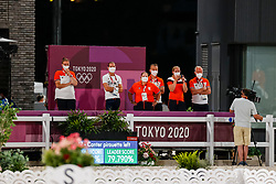 Minderhoud Hans Peter, NED, Glock's Dream Boy N.O.P, 152<br /> Olympic Games Tokyo 2021<br /> © Hippo Foto - Stefan Lafrentz<br /> 27/07/2021