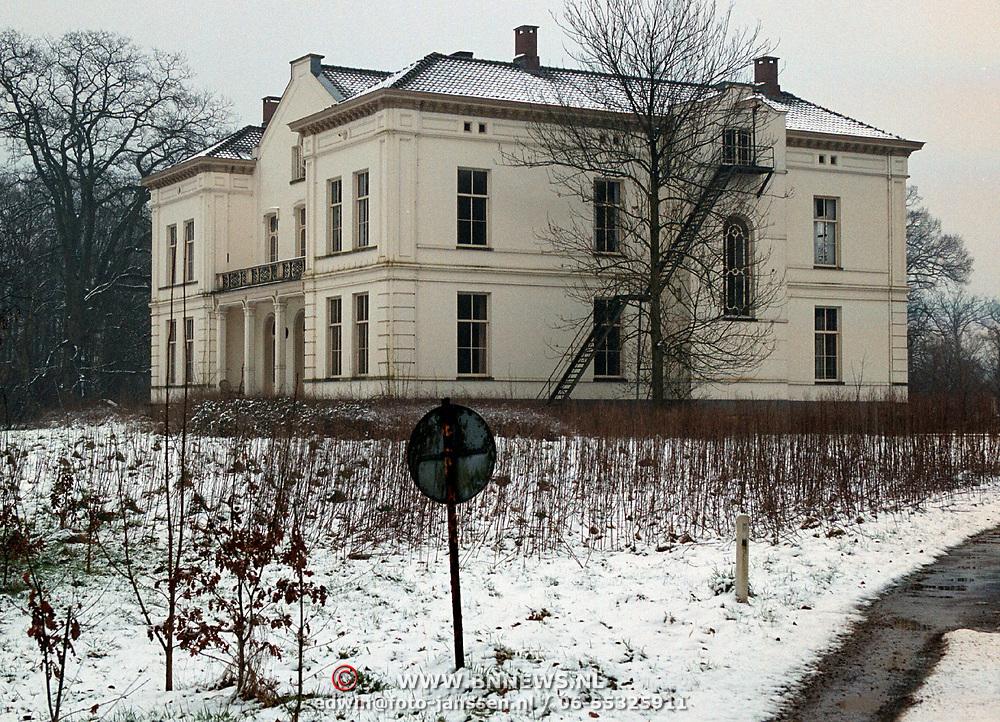 Nieuwe woning Wibi Soerjadi, landgoed Wulperhorst Zeist,