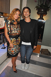 JADE JAGGER and DAN WILLIAMS at a preview of Garrard's new collections and celebrates a Kaleidoscope of Colour at Garrard, 24 Albemarle Street, London on 10th May 2007.<br /><br />NON EXCLUSIVE - WORLD RIGHTS