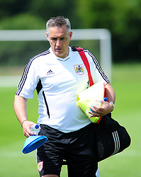 Bristol City's first team coach, John Pemberton - Photo mandatory by-line: Dougie Allward/JMP - Tel: Mobile: 07966 386802 28/06/2013 - SPORT - FOOTBALL - Bristol -  Bristol City - Pre Season Training - Npower League One