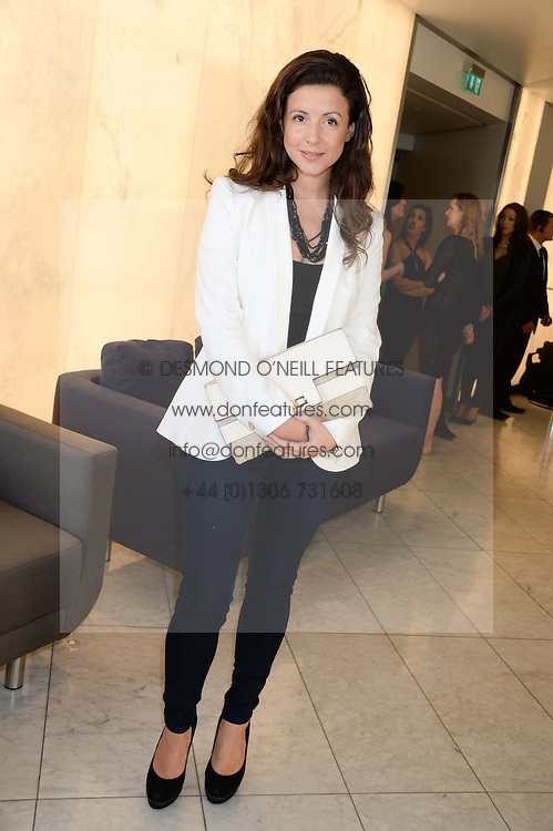 SHIRLEY LEIGH-WOOD OAKES at the launch of the Odabash Macdonald Resort 2014 swimwear collection at ME Hotel, London on 25th June 2013.