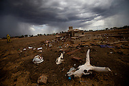The Malakal cementary in Unity state, a local warlord has given houses around the cementary  to his militia.
