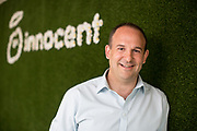 Mcc0077661 . Daily Telegraph<br /> <br /> DT Business<br /> <br /> Douglas Lamont, CEO of Innocent drinks which is now 90% owned by the Coca Cola Company .<br /> <br /> London 27 June 2017