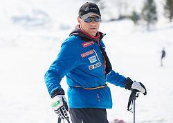 Dusan Blazic during Men's Super Combined Slovenian National Championship 2014, on April 1, 2014 in Krvavec, Slovenia. Photo by Vid Ponikvar / Sportida