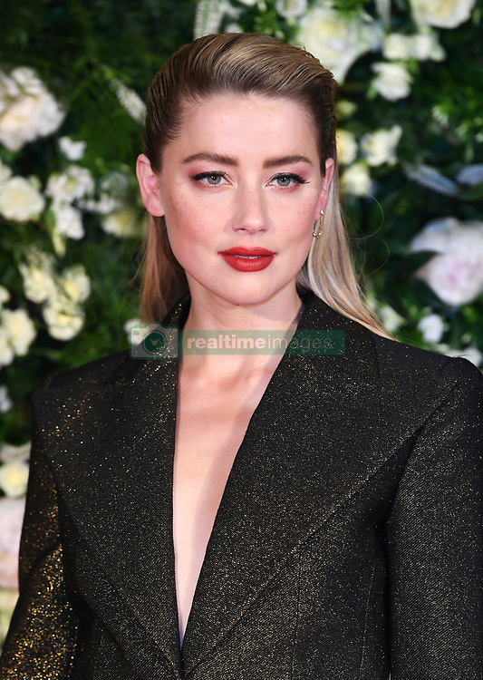 Amber Heard arriving at the Charles Finch Filmmakers Dinner, Eden Rock, Hotel du Cap during the 72nd Cannes Film Festival. Photo credit should read: Doug Peters/EMPICS