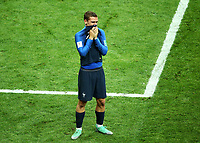 Antoine Griezmann (France) crying before the ward ceremony<br /> Celebration Victory France <br /> Moscow 15-07-2018 Football FIFA World Cup Russia  2018 Final / Finale <br /> France - Croatia / Francia - Croazia <br /> Foto Matteo Ciambelli/Insidefoto