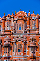 Palace of the Winds (Hawa Mahal), Jaipur, Rajasthan, India.