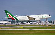 Alitalia, Airbus A330 EI-EJM at Malpensa (MXP / LIMC), Milan, Italy