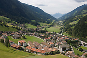The town of St Leonhard-San Leonardo in the Passeiertal valley, South Tyrol, northern Italy. South Tyrol has a surface area of 7,400sq km, roughly the same as the Black Forest and is the largest province in Italy with 60% of this is 1,600 metres above sea level and its birth rate is the fourth highest of Italian provinces. 60% of the province's energy needs, excl transport, comes from renewable sources like water, biomass, biogas, solar, wind and geothermal. With just half a million inhabitants, it attracts nearly 6m holidaymakers annually. According to the 2011 census, there are 505,000 inhabitants in south Tyrol.