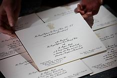 Royal Wedding Invitations - 22 March 2018