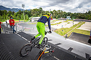 2021 UCI BMXSX World Cup<br /> Round 4 at Bogota (Colombia)<br /> Practice<br /> Pro Gate