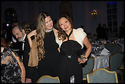 YULIA OBUKHOVA; ANAFINA MIRA, The Old Russian New Year's Eve Gala. In aid of the Gift of Life foundation. Savoy Hotel, London. 13 January 2015.