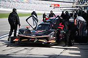January 5-7, 2018. IMSA Weathertech Series ROAR before 24 test. 7 Acura Team Penske, Acura DPi,Helio Castroneves, Graham Rahal, Ricky Taylor