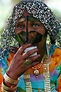 Bedouin woman, Abu Dhabi