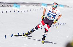 03.03.2019, Seefeld, AUT, FIS Weltmeisterschaften Ski Nordisch, Seefeld 2019, Langlauf, Herren, 50 km Massenstart, im Bild Bernhard Tritscher (AUT) // Bernhard Tritscher of Austria during the men's cross country 50 km mass start competition of FIS Nordic Ski World Championships 2019. Seefeld, Austria on 2019/03/03. EXPA Pictures © 2019, PhotoCredit: EXPA/ JFK