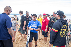 December 11, 2017 - Haleiwa, Hawaii, U.S. - Miguel Pupo of Brazil advanes to round three after placing first in round one heat 5 of the 2017 WSL Billabong Pipe Masters at Pipeline, Oahu, Hawaii, USA..Billabong Pipe Masters 2017. (WSL via ZUMA Wire/ZUMAPRESS.com)
