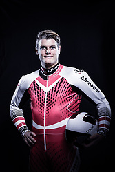 12.10.2019, Olympiahalle, Innsbruck, AUT, FIS Weltcup Ski Alpin, im Bild Christopher Neumayer // during Outfitting of the Ski Austria Winter Collection and the official Austrian Ski Federation 2019/ 2020 Portrait Session at the Olympiahalle in Innsbruck, Austria on 2019/10/12. EXPA Pictures © 2020, PhotoCredit: EXPA/ JFK