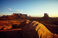 Monument Valley, Utah/Arizona border USA
