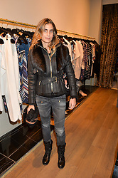 CLAUDIA RUIMY at the Salt Store VIP Shopping event at 77 Eliabeth Street, London on 2nd December 2015.