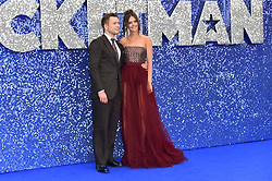 Taron Egerton and Emily Thomas attending the Rocketman UK Premiere, at the Odeon Luxe, Leicester Square, London.Picture date: Monday May 20, 2019. Photo credit should read: Matt Crossick/Empics