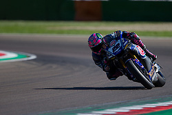 May 13, 2018 - Imola, BO, Italy - Alex Lowes of Pata Yamaha Official WorldSBK Team during the race 2 of the Motul FIM Superbike Championship, Italian Round, at International Circuit ''Enzo and Dino Ferrari'', on May 13, 2018 in Imola, Italy  (Credit Image: © Danilo Di Giovanni/NurPhoto via ZUMA Press)
