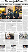 February 10, 2021 (USA): Front-page: Today's Newspapers In USA