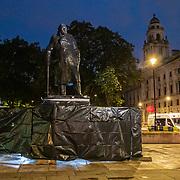 20200617-Winston Churchill Statue Uncovered