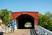 Roseman Bridge; Photograph of the Bridges of Madison County, Winterset, Iowa, USA.