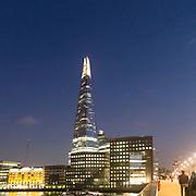 Il famoso grattacielo The Shard di Renzo Piano in London Bridge<br /> <br /> The well-known Renzo Piano's skyscraper The Shard