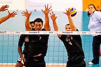 Orestes Miraglia / Raphael Mrozek  - 04.12.2014 - Cannes / Narbonne - 9eme journee de Ligue A  <br /> Photo : Nogier / Icon Sport