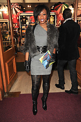 BEVERLEY KNIGHT at the gala opening night of Cirque du Soleil's Varekai at the Royal Albert Hall, London on 5th January 2010.