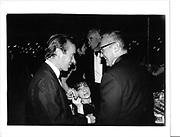 Dennis Hopper, Joan Juliet Buck, Martin Amil© Copyright Photograph by Dafydd Jones 66 Stockwell Park Rd. London SW9 0DA Tel 020 7733 0108 www.dafjones.com