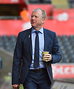 Queens Park Rangers manager Steve McClaren arrives at the Liberty Stadium before the EFL Sky Bet Championship match between Swansea City and Queens Park Rangers at the Liberty Stadium, Swansea, Wales on 29 September 2018.