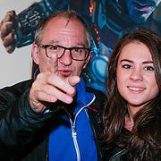 NLD/Amsterdam/20130423 - Premiere Iron Man 3, Jeroen van Inkel en dochter