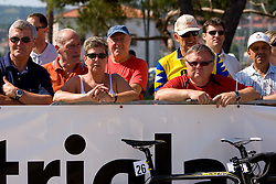 Spectators at 1st stage of Tour de Slovenie 2009 from Koper (SLO) to Villach (AUT),  229 km, on June 18 2009, in Koper, Slovenia. (Photo by Vid Ponikvar / Sportida)