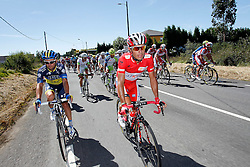 31.08.2012, 13. Etappe, Santiago de Compostella nach Ferrol, ESP, La Vuelta, im Bild Joaquin Purito Rodriguez // during the La Vuelta, Stage 13 Santiago de Compostella to Ferrol, Spain on 2012/08/31 (ALTERPHOTOS/Paola Otero). EXPA Pictures © 2012, PhotoCredit: EXPA/ Alterphotos/ Paola Otero..***** ATTENTION - OUT OF ESP and SUI *****