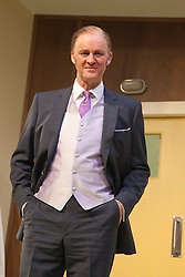 © Licensed to London News Pictures. 09/05/2012. London, England. Tim McInnerny as Dr Prentice. What the Butler Saw by Joe Orton and directed by Sean Foley opens at the Vaudeville Theatre, London. Photo credit: Bettina Strenske/LNP