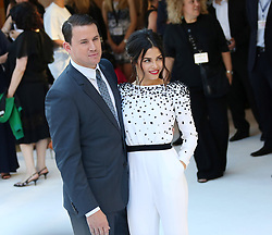 Channing Tatum and Jenna Dewan attend the Magic Mike XXL European premiere at Vue West End, Leicester Square, London, UK, Tuesday June 30, 2015. Photo by Bakounine/ABACAPRESS.COM