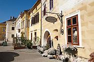 Hotel Burgerhauz - Rust ( Hungarian: Ruszt ) on the Neusiedler See, Burgenland, Austria