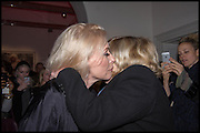 DEBBIE HARRY; MARIANNE FAITHFUL;  Chris Stein / Negative: Me, Blondie, and The Advent of Chris Stein / Negative: Me, Blondie, and The Advent of Punk - private view, Somerset House, the Strand. London. 5 November 2014.