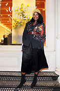 New York, NY-November 3: Media Personality Tai Beauchamp attend the Native Son Community Give Back Reception benefiting the Stonewall Community Foundation and other LGBTQ organizations hosted by Emil Welbekin held at Byredo on November 3, 2017 in New York City.  (Photo by Terrence Jennings/terrencejennings.com)
