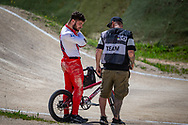 2021 UCI BMXSX World Cup 1&2<br /> Verona (Italy)<br /> Friday Practice<br /> WE + WU<br /> ^me#494 BRUNNER, Gil (SUI, ME) Team_CH, Nologo