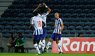 Pepe of Porto celebrates his goal during the Portuguese League (Liga NOS) match between FC Porto and Maritimo at Estadio do Dragao, Porto, Portugal on 3 October 2020.