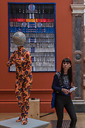 Venus De' Medici by Yinka Shonibare £162,000 and Metamorphose de Papillon by Abdoulaye Konate £35000 - The Royal Academy's 249th Summer Exhibition - co-ordinated by Eileen Cooper RA. The hanging committee will consist of Royal Academicians Ann Christopher, Gus Cummins, Bill Jacklin, Fiona Rae, Rebecca Salter and Yinka Shonibare. This year, the Architecture Gallery will be curated by Farshid Moussavi RA. The exhibition, sponsored by Insight Investment is open to the public 13 June – 20 August 2017. London 07 June 2017.