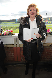CILLA BLACK at the Hennessy Gold Cup 2009 held at Newbury Racecourse, Berkshire on 28th November 2009.