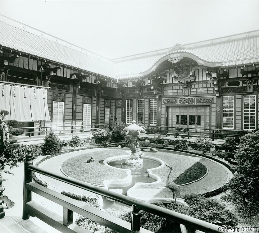 1918 Bernheimer estate. Today it is the Yamashiro