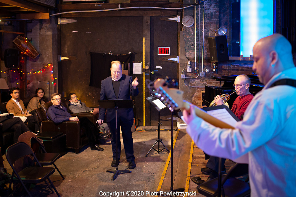 Wingjammer<br /> Composers Concordance and Spectrum<br /> February, Saturday 29th, 2020<br /> 70 Flushing Avenue, Garage A, Brooklyn, New York 11205