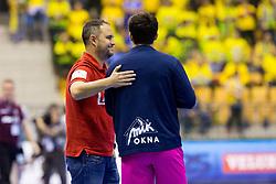 Branko Tamse, head coach of RK Celje Pivovarna Lasko during handball match between RK Celje Pivovarna Lasko and THW Kiel in Group Phase A+B of VELUX EHF Champions League, on November 19, 2017 in Arena Zlatorog, Celje, Slovenia. Photo by Ziga Zupan / Sportida